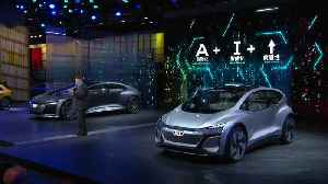 Audi AI:ME Premiere at Auto Shanghai 2019 [Video]