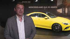 Tobias Moers at the 2019 New York International Auto Show [Video]