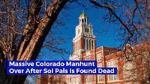 Massive Colorado Manhunt Over After Sol Pais Is Found Dead [Video]