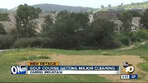 Golf course getting major cleaning [Video]