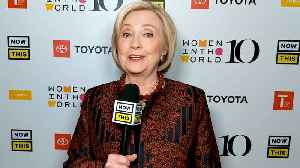 Hillary Clinton On Her Historic Firsts [Video]