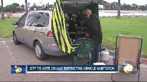 Despite new overnight parking lot, homeless worry about new vehicle ordinance [Video]