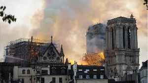 Paris' Notre Dame Cathedral On Fire [Video]