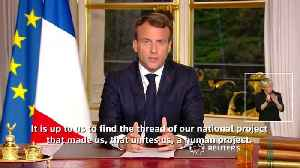 Franceandapos;s Macron commits to renovating Notre-Dame within five years