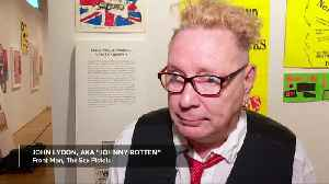 Here's the exhibit; New York showcases art of punk rock [Video]