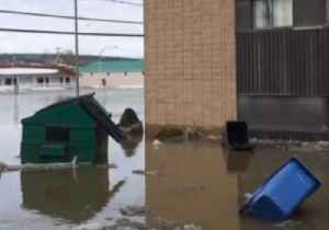 Quebec Town Flooded After Ice Jam Gives Way [Video]