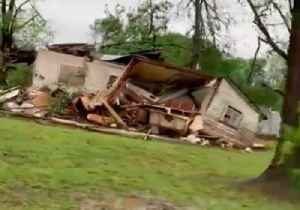 Homes Destroyed After Suspected Tornado Sweeps Through Alto [Video]
