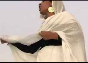 Woman Leading Chant Becomes Symbol of Protest in Khartoum [Video]