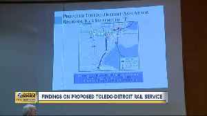 Proposed Toledo-Detroit rail service picking up steam [Video]