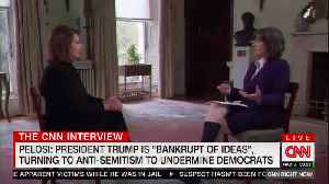 Pelosi pushes back on accusations of anti-Semitism in Democratic Party. [Video]