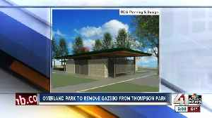 Overland Park signs off on plan for renovations to Thompson Park, removing existing gazebo [Video]