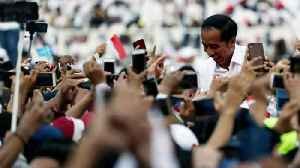 Indonesia's Widodo Says Vote 'Quick Counts' Indicate Election Win [Video]