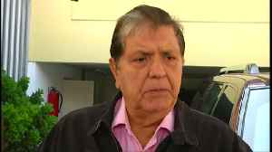 Peru's ex-president Garcia shoots himself [Video]