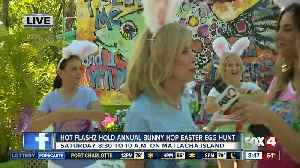 Local Entertainment group holds eighth annual bunny hop easter egg hunt [Video]
