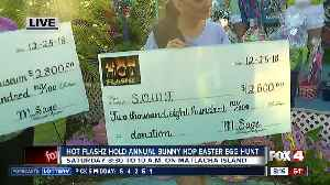 Hot Flashz hold eighth annual bunny hop easter egg hunt [Video]