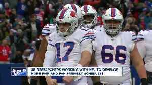 NFL working with Buffalo researchers to make schedule more 'fair' [Video]