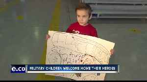 """Mountain Home welcomes home 150 """"Bold Tigers"""" from deployment [Video]"""