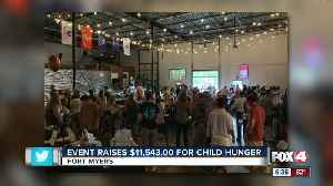 Child hunger event raises money to fight hunger in Fort Myers [Video]