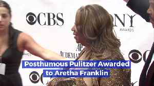 News video: Posthumous Pulitzer Awarded For The Queen Of Soul