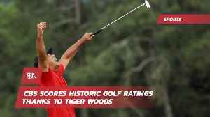 News video: Tiger Woods Lands Big Viewership On CBS
