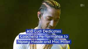Kid Cudi's Coachella Performance Was Dedicated To These Late Rap Artists [Video]