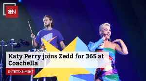 Katy Perry Teamed Up With Zedd During Coachella Festival [Video]