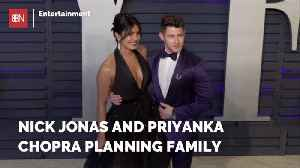 News video: Nick Jonas And Priyanka Chopra Are Having Family Discussions
