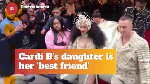 Cardi B's Connection With Her Daughter Is Adorable [Video]