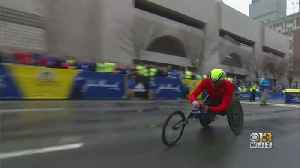 Mount Airy Man Makes History, Winning Wheelchair Division Of Boston Marathon [Video]