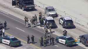 High-Speed Chase Across Two South Florida Counties Ends With Man, Woman In Custody [Video]