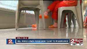 News video: bill would lower possession felony to misdemeanor