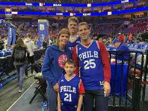 Sixers Honor Young Fan Who Beat Cancer At Age 1 Prior To Game 2 Of Playoffs Monday Night [Video]