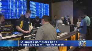 Pennsylvania Gamblers Bet Record $44.5 Million Amid March Madness [Video]