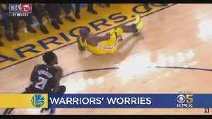Warriors' DeMarcus Cousins Suffers Left Quadriceps Muscle Tear [Video]