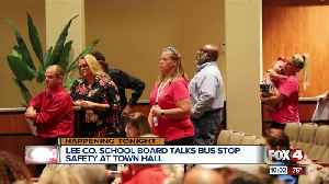 Solutions for bus stop safety discussed at town hall meeting [Video]