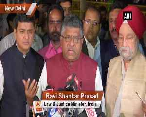 Complained to EC to take appropriate action against Rahul Gandhi for calling PM Modi chor RS Prasad [Video]