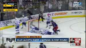 Bolts season ends in sweep [Video]