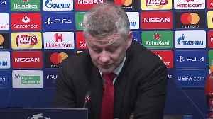 Ole Gunnar Solskjaer admits work to be done [Video]
