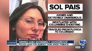 News video: What we know about Sol Pais, woman accused of threats as school decisions will be made overnight