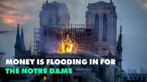 The world is donating money to save the Notre Dame [Video]