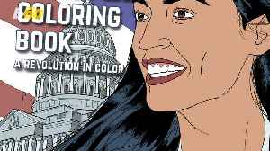 Alexandria Ocasio-Cortez's Life Has Now Become a Coloring Book [Video]