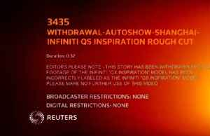 Infiniti launches electric concept, says first battery-driven model to be ready in three years [Video]