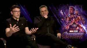 'Avengers: Endgame': Exclusive Interview With Anthony Russo & Joe Russo [Video]