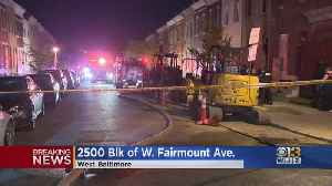 Woman Dies In Baltimore House Fire [Video]