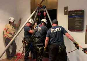 Firefighters Rescue People Trapped in Kennedy Center Elevator [Video]