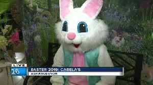 Easter events at Cabela's [Video]