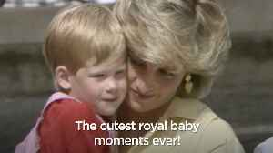 The cutest royal baby moments ever [Video]