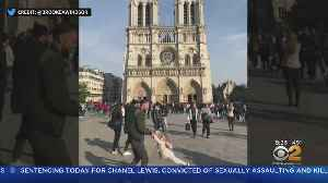 Touching Photo Taken Moments Before Notre Dame Blaze [Video]