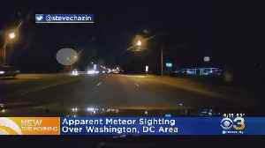 Man Captures Possible Meteor Sighting On Video In Washington [Video]