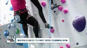 Challenge yourself at Central Rock Buffalo [Video]